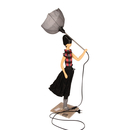 "Design-Stehlampe ""Polly"", 82 cm"